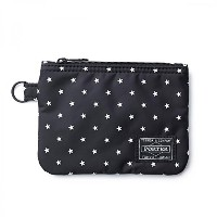 (ヘッド・ポーター) HEADPORTER STELLAR ZIP WALLET BLACK