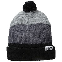 ネフ(ネフ) NEFF SNAPPY 14NF00019 BLACK / GREY / GREY (ブラック×グレー/FF/Men's)