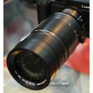 Panasonic LEICA DG VARIO-ELMAR 100-400mm / F4.0-6.3 ASPH. / POWER O.I.S.超望遠ズームレンズ H-RS100400...