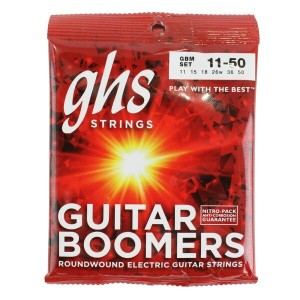 GHS Boomers GBM 11-50 エレキギター弦3セット