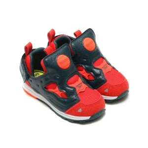Reebok VERSA PUMP FURY SYN(リーボック バーサ ポンプ フューリー SYN)RIOT RED/ATOMIC RED/FOREST GRAY/WHITE【キッズ スニーカー】...