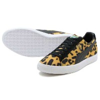 "PUMA CLYDE ""SUITS PACK"" LEOPARDプーマ クライド スーツ パックSOLAR POWER/BLACK/WHITE"