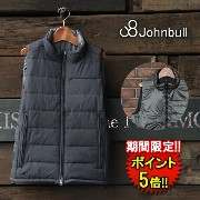 2★【Johnbull】 TETRATEX INNER DOWN VEST (16504) Men's □ ※返品不可※