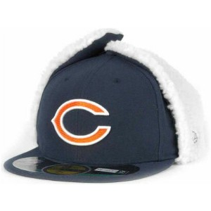 NEW ERA CHICAGO BEARS 【NFL-DOGEAR/NAVY】 ニューエラ シカゴ ベアーズ 59FIFTY フィッテッド キャップ FITTED CAP ドッグイアー [帽子...