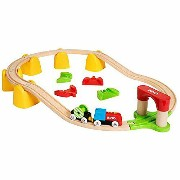 BRIO ブリオ マイファーストバッテリーパワーレールセット 木のおもちゃ 電車 子供 誕生日プレゼント 誕生日 男の子 男 出産祝い 1歳 2歳 3歳 |列車 ギフト 北欧 おもちゃ 乗り物 安心...