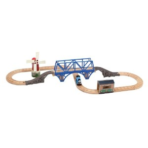 きかんしゃトーマス 木製レール Thomas And Friends Wooden Railway - Steaming Around Sodor Battery Powered Set