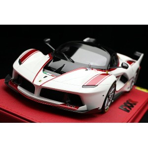 【平日即日発送可能】BBR 1/18 ラフェラーリ FXX K Italia white / red stripes - car no. 47 Laferrari ferrari P18119A...