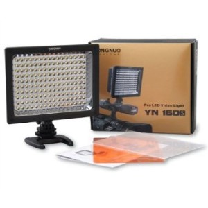 Yongnuo プロ LED ビデオ / Studio Light YN-160s, LED Panel for Canon, Nikon, ソニー, Panasonic, サムスン...
