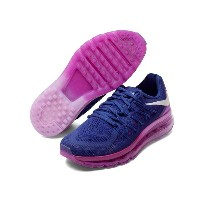 NIKE WMNS AIR MAX 2015Deep Royal Blue/White-Fuchsia Glowナイキ エア マックス2015 紫ピンク
