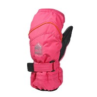 16-17 HESTRA ヘストラ PRIMALOFT JR MITT / Fuchsia-Orange