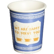 Exceptionlab Inc. 10-Ounce Ceramic Cup 'We are happy to serve you' [並行輸入品]