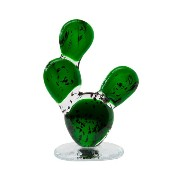 amabro(アマブロ) CACTUS GLASS ORNAMENT Round Fan (L)