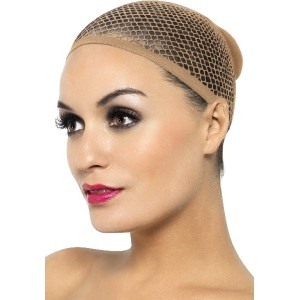 Fever Women's Mesh Wig Cap, Nude, One Size