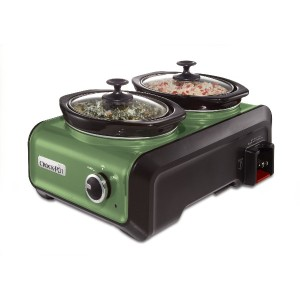 Crock-Pot クロックポット SCCPMD1 Hook Up Double Oval Connectable Entertaining System 連結可能 2台同時調理鍋 【並行輸入品】 ...