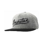 Primitive プリミティブ SCRIPT SNAPBACK GREY BLACK P-ROD paul rodriguez スケートブランド キャップ P-ROD paul rodriguez...