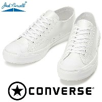 CONVERSE JACK PURCELL ENAMEL LEATHER ホワイト