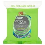 Tommee Tippee Closer To Nature Soother, Teat and Teether Wipes - Pack of 30
