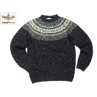 INVERALLAN(インバーアラン)/#115065 NORDICK FAIRISLE YOKE DONEGAL SWEATER/sheelin
