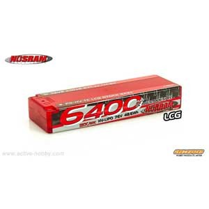 6400 - HV TC LCG Stock Spec - 120C/60C - 7.6V LiPo【999543DS】 【税込】 アクティブホビー [999543DS 6400 7.6V...