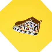 CONVERSE BABY ALL STAR N MICKEY MOUSE PT Z (コンバース ベイビー オールスター N ミッキー マウス PT Z)MULTI【キッズ スニーカー】17SP-I