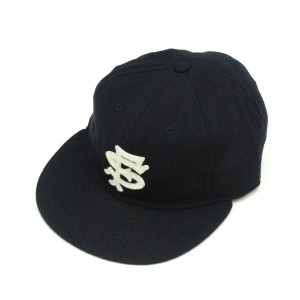 EBBETS FIELD FLANNELS / エベッツフィールドフランネルズ Wool 6Panel Ball Cap (San Francisco Seals1949) Navy