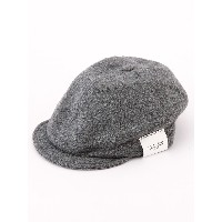 (シップス) SHIPS SA:USA WOOL NEWSBOY CAP 118550069 Mid Gray2 日本 ONE SIZE-(ONE SIZE)