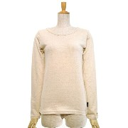 GOHEMP(ゴーヘンプ) WOMAN L/SL TEE SUN BLEND WARMER Color:NATURAL Size:F (0)