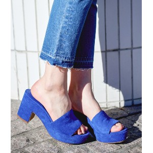 【MARISA REY】COLOR MULE
