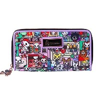 Tokidoki Roma Long Large Zip Wallet トキドキ ローマ 長財布 TK1701202