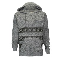 バンズ メンズ トップス パーカー【Vans Subtropic Fleece Hoodie】Heather Grey