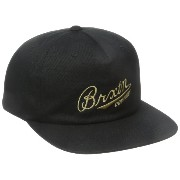 Brixton ブリクストン Fenway Snap-Back Hat - Black