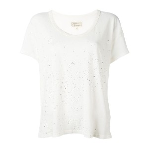 Current/Elliott - The Slouchy Scoop Tシャツ - women - コットン - I