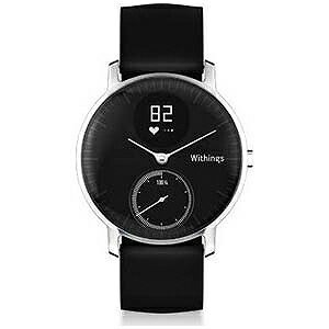 WITHINGS ウェアラブル端末「Withings Steel HR 36mm Black」 HWA03−Black36−Asia(送料無料)