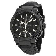 [シチズン] Citizen 腕時計 Sport Eco-drive Chronograph Black Dial Black IP Steel メンズ CA0315-01E [並行輸入品]