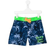 Vingino tropical print swim shorts