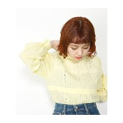 SLY BACK RIBBON LACE STAND TOPS スライ【送料無料】