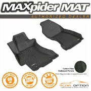 Subaru Impreza フロアマット For 3D Maxpider 12-15 Impreza Sedan Xv CrosstrEK 2Pc Black Kagu Floor Mat 3D...