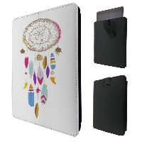 """C0780 - Beautiful Colourful Dream Catcher Feathers Lucky Charm For All Amazon Kindle Fire Hd 7""""..."""