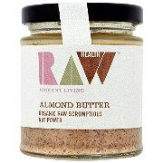 Raw Health - Organic Spreads - Raw Almond Butter - 170g