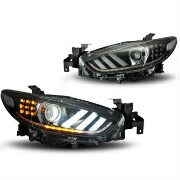 マツダ アテンザ ヘッドライト Aftermarket HID Xenon Projector Headlights Assembly for Mazda 6 aka atenza...