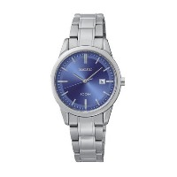 セイコー Seiko SUR849 Women's Watch Blue Dial Silver Stainless Steel Band Date 女性 レディース 腕時計 【並行輸入品】
