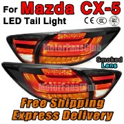 マツダ CX-5 テールライト Smoke LED Rear Break Tail Lamp Light 4PCS Assy For Mazda CX5 CX-5 2013 2014 2015...