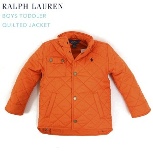 (TODDLER) BOYS(2-7) POLO by Ralph Lauren Quilted Jacket USラルフローレン キッズ 子供用 キルティングジャケット (UPS)