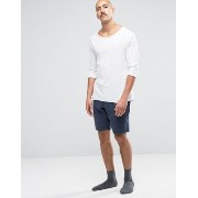 Jack Wills Jersey Lounge Shorts ショーツ In Navy