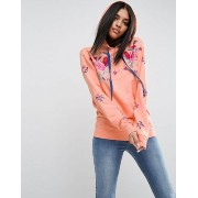 【送料無料】ASOS エイソス Hoodie with Floral Embroidery