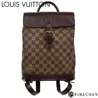 【LOUIS VUITTON/ルイ・ヴィトン】ダミエ・エベヌ ソーホー N51132 【中古】≪送料無料≫