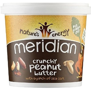 Meridian Nat Crunchy Peanut Butter 1000 g (order 6 for trade outer) / メリディアンナット?クランチピーナッツバターの千グラム...