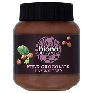Biona Organic - Chocolate Spread - Milk Chocolate & Hazelnut - 350g