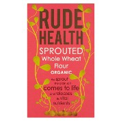 Rude Health - Sprouted Whole Wheat Flour - 500g