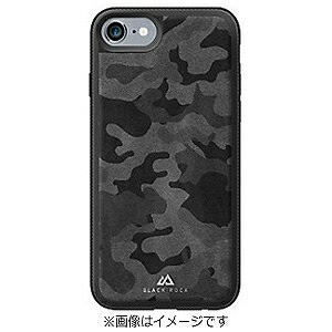iPhone 7用 Material Case Leather Camouflage 1025MLC02